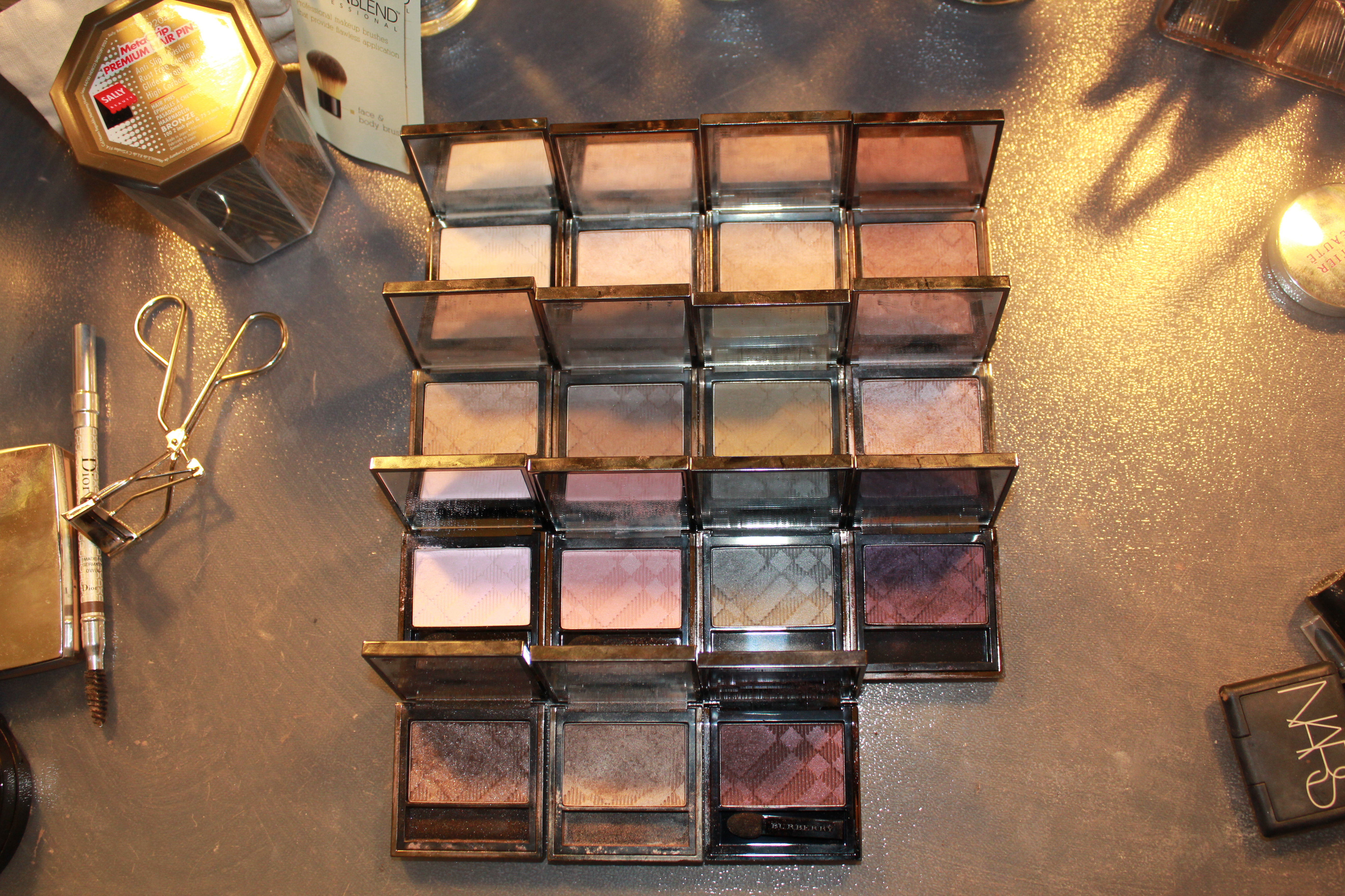 Burberry Eyeshadow 101