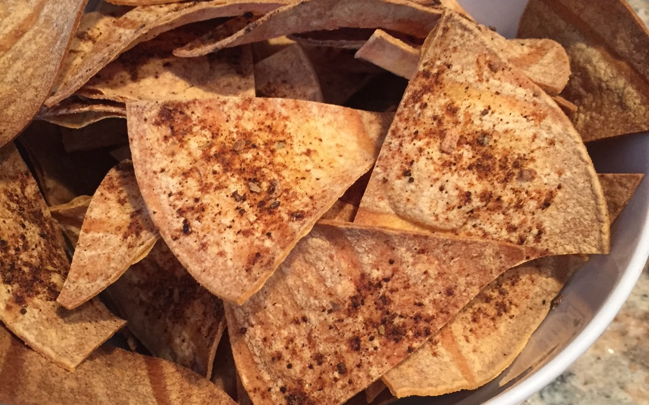 Baked Tortilla Chips (No Oil!)